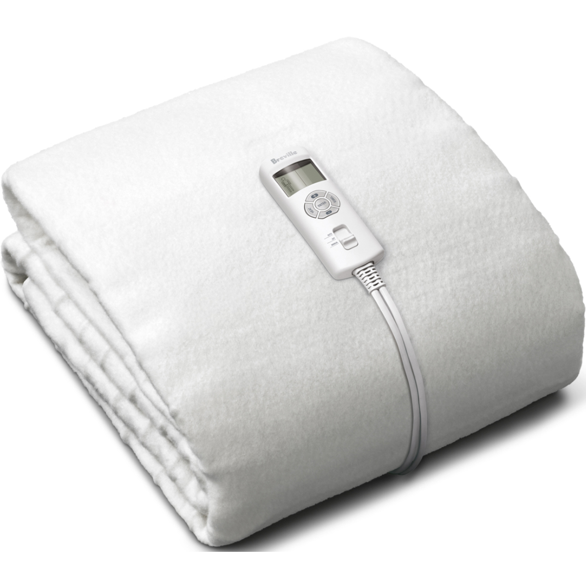 Breville BZB417WHT Single Fitted Electric Blanket