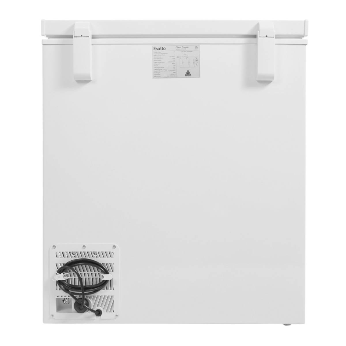 Esatto ECF146W 146L Chest Freezer 61159