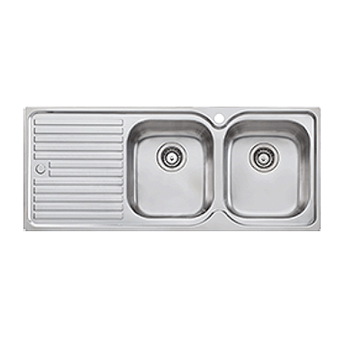 Oliveri EL072 Double Bowl Stainless Steel Sink 61501