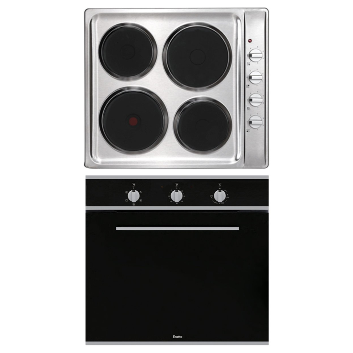 Esatto EOE6 Electric Oven and Electric Cooktop Pack 89071