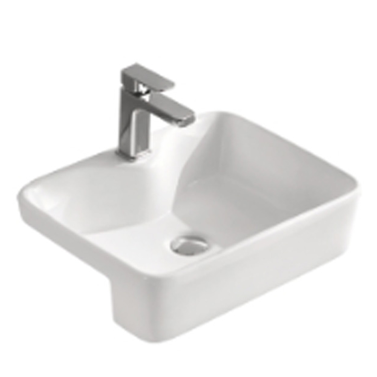 Sorrento ESRB3 Elena Semi Recess Basin