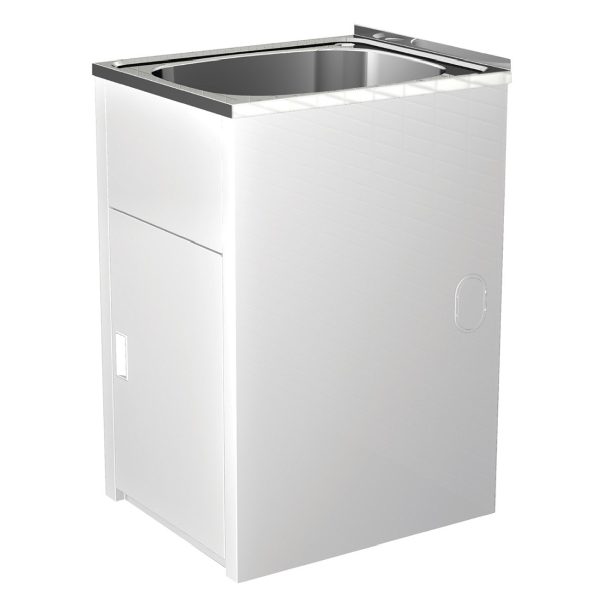 Clark F6111 Utility 42 Litre Compact Laundry Tub & Cabinet