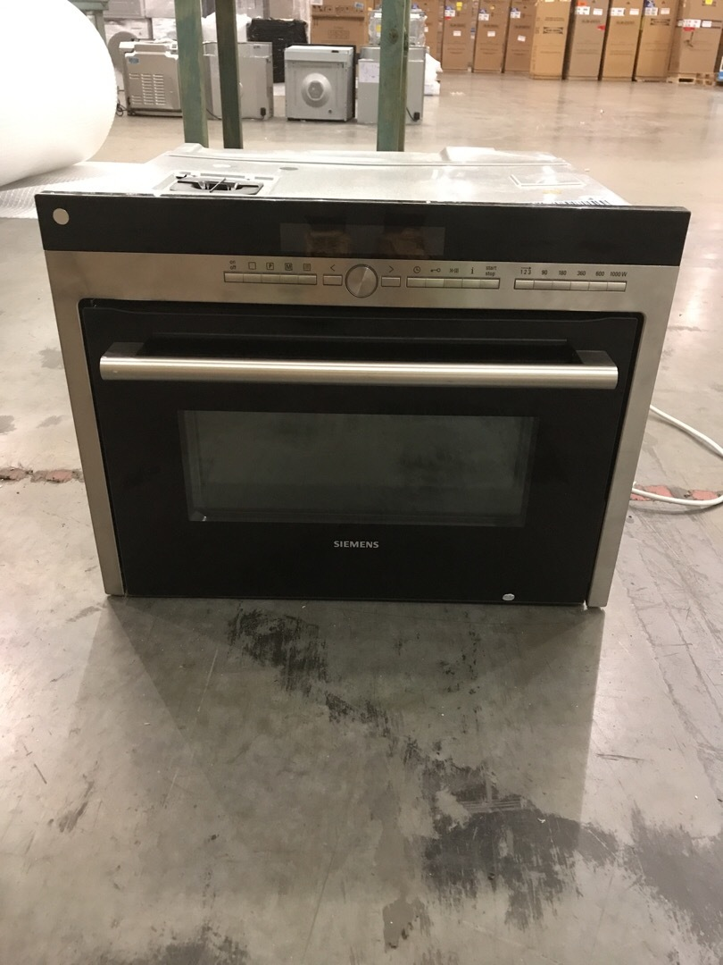 Siemens HB86P575BP Built-in Microwave Oven in Stainless Steel
