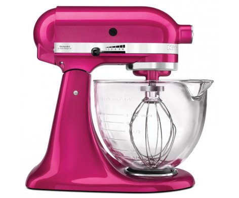 KitchenAid Stand Mixer Raspberry Ice KSM156