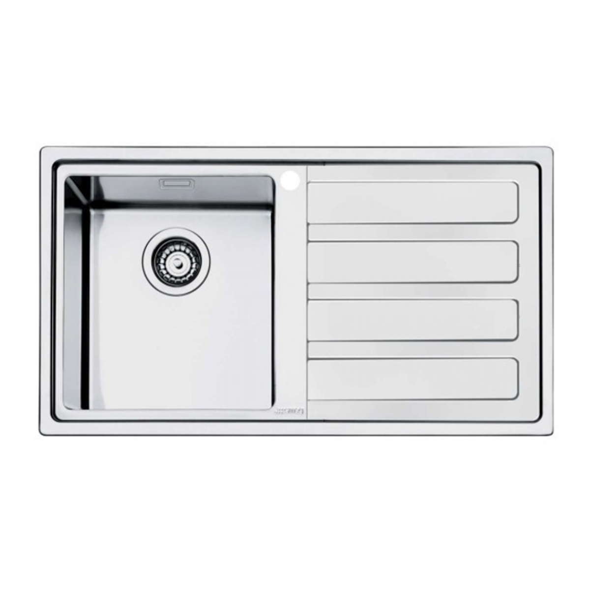 Smeg LD861D Sink With Right-hand Drainer