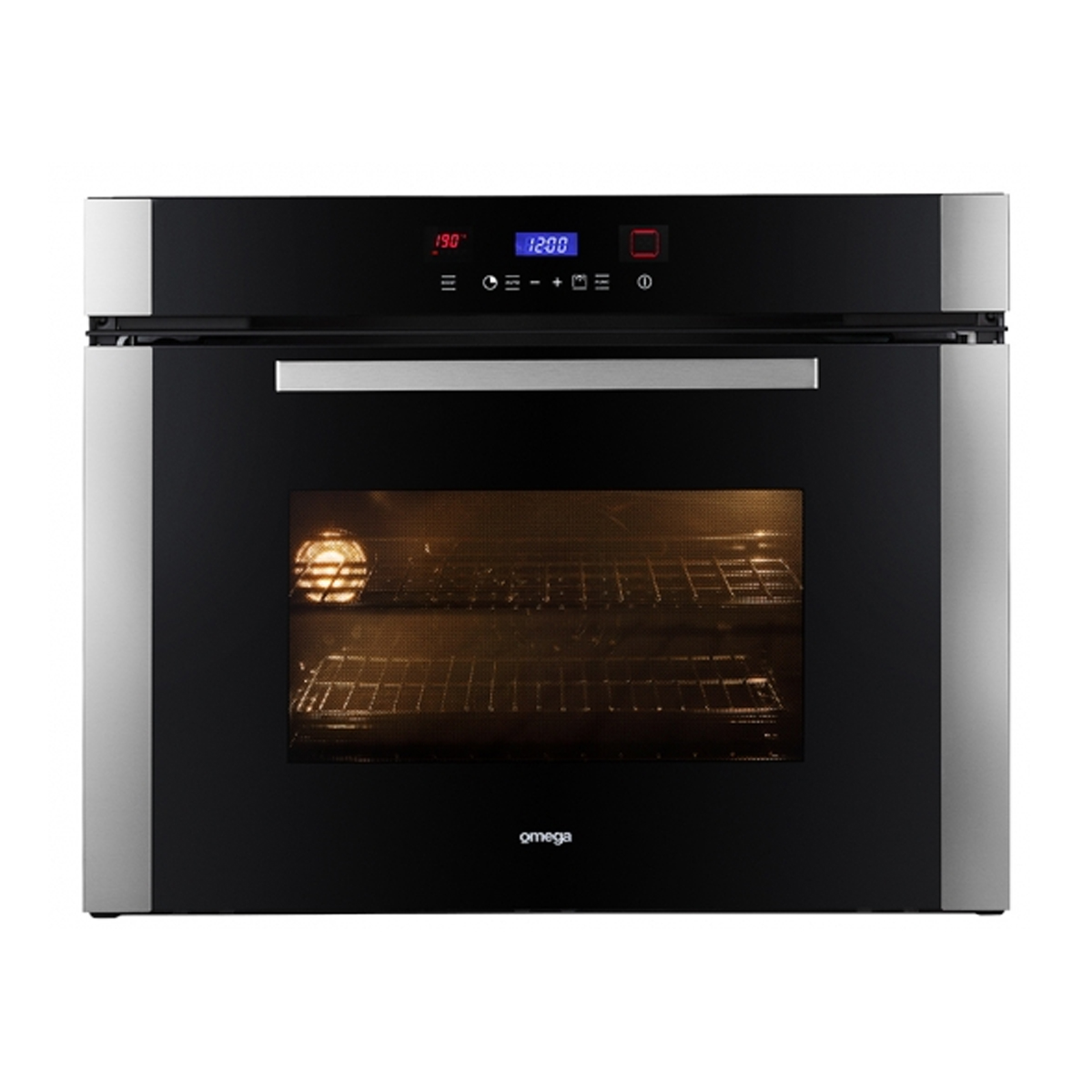 Omega OO7A1X 75cm Stainless Steel Pyrolytic Oven