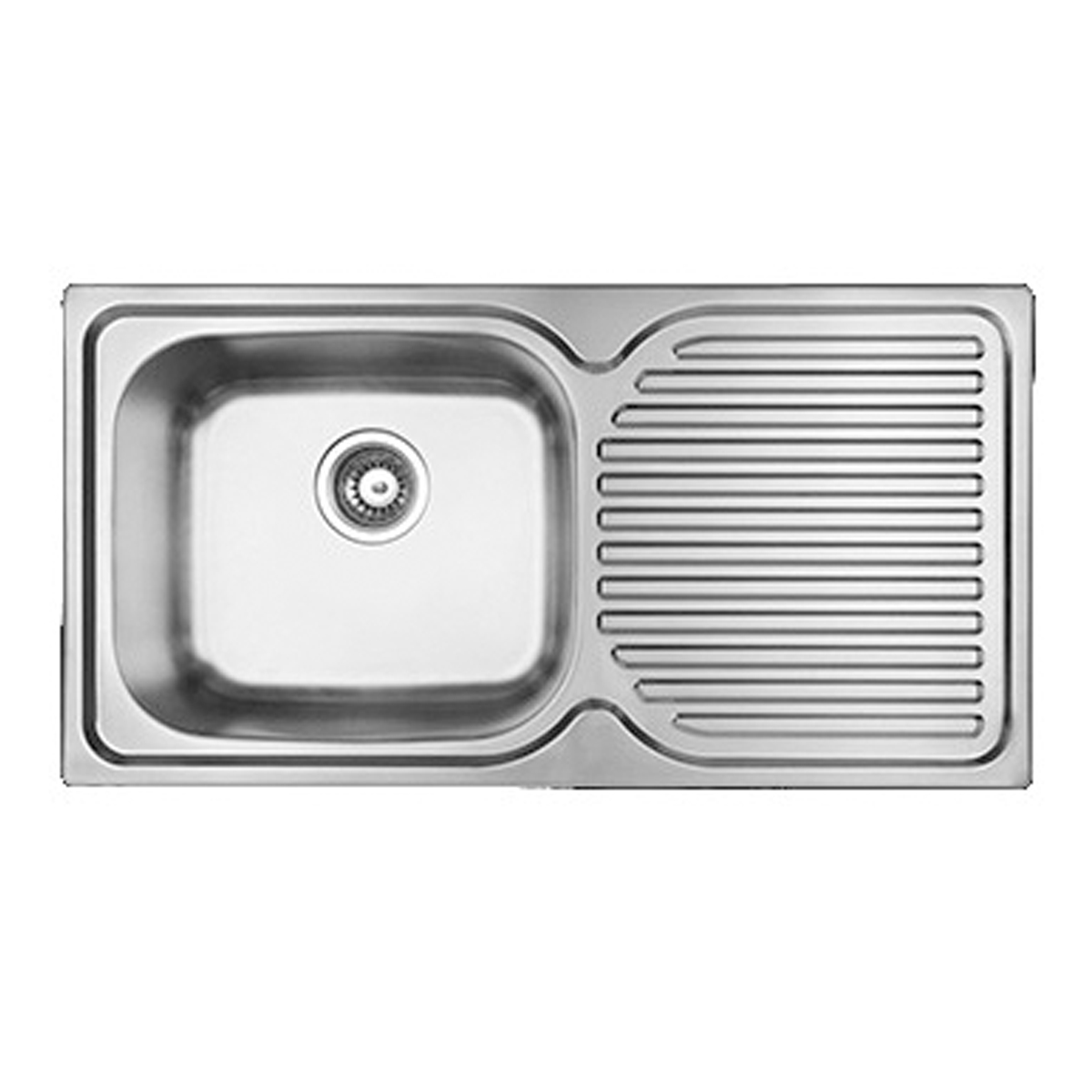 Abey PR100LPLUS Squareline Single Bowl Sink
