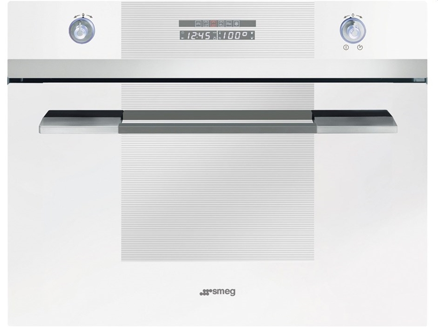Smeg SC45VB2 60cm Linear Series Steam Compact Oven 128488