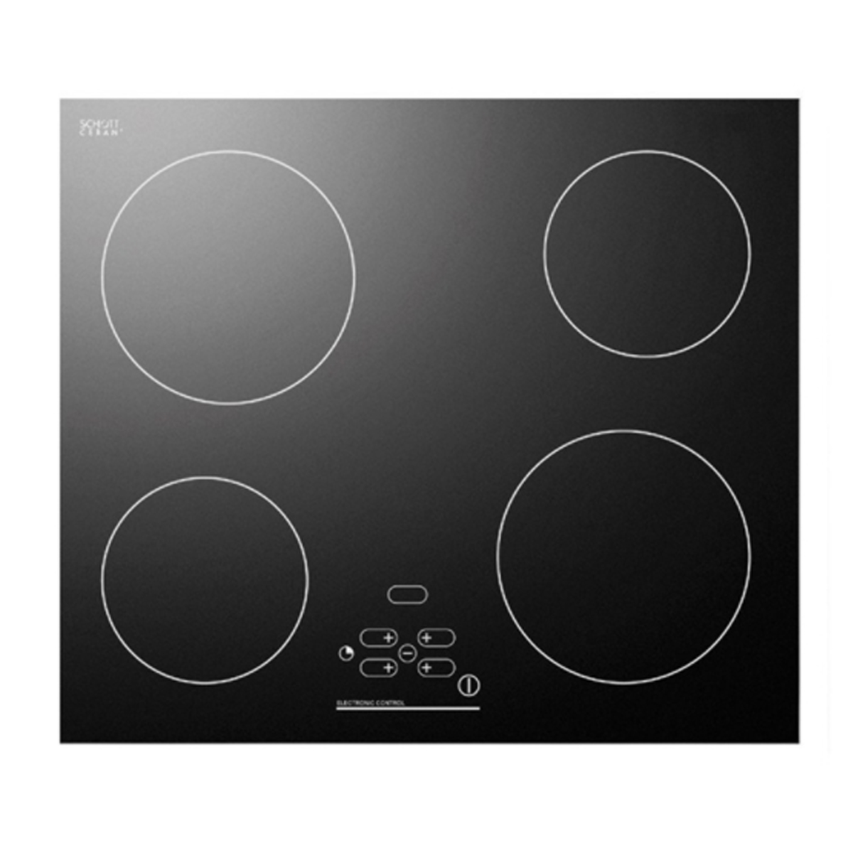 Vincente by Omega VCER2 60cm Ceramic Touch Control Cooktop