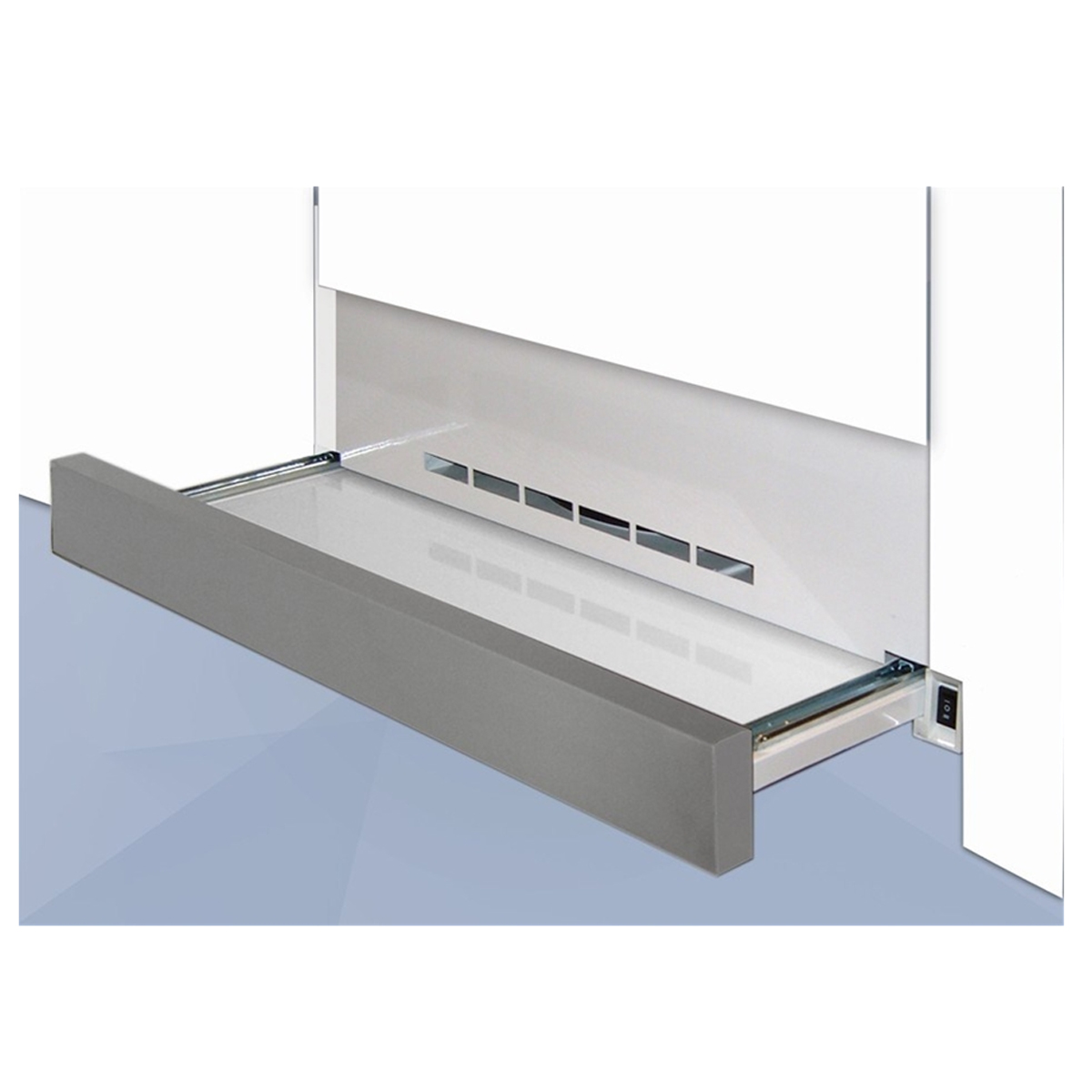 Vincente by Omega VSO912 90cm Stainless Steel Facia Retractable  Rangehood