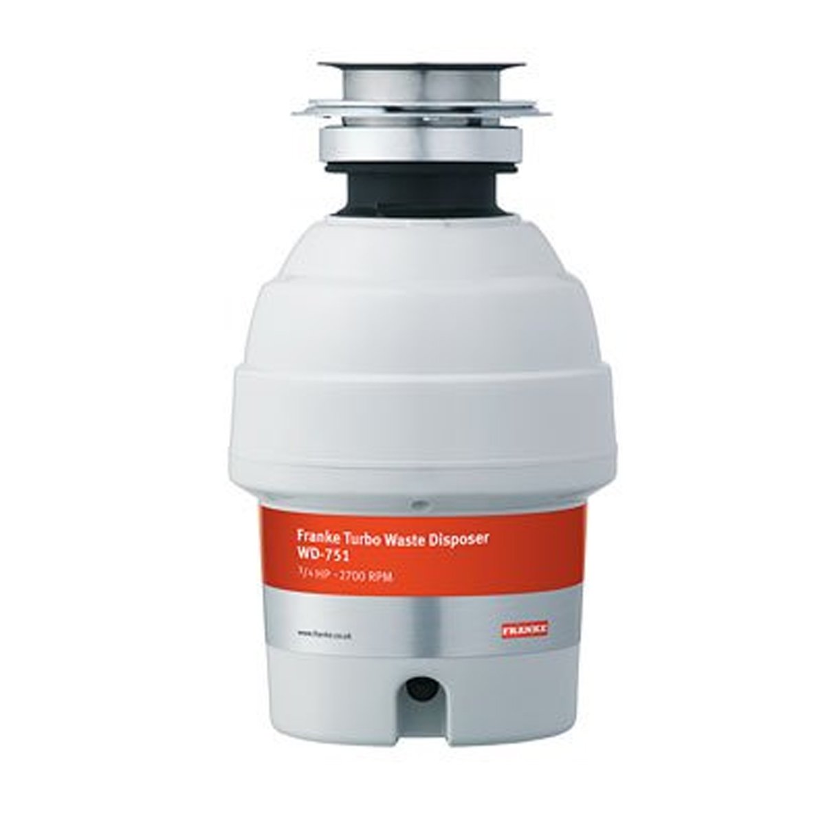 Franke WD751 Waste disposers - Waste Management