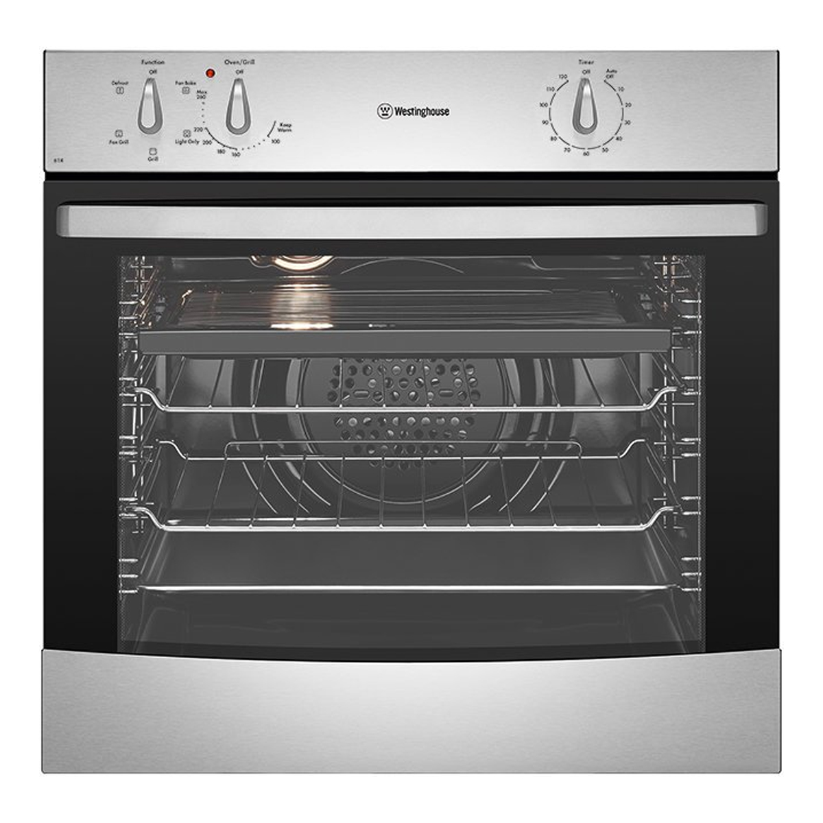 Westinghouse WVE614SA Electric Built-In Oven 61051