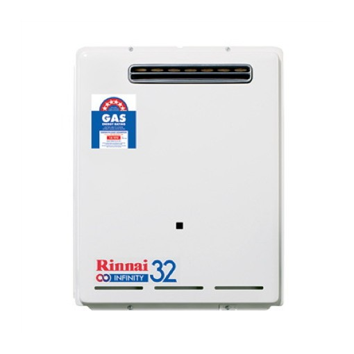 Rinnai 32 Continuous Flow Gas Hot Water System LPG INF32L50M 61418