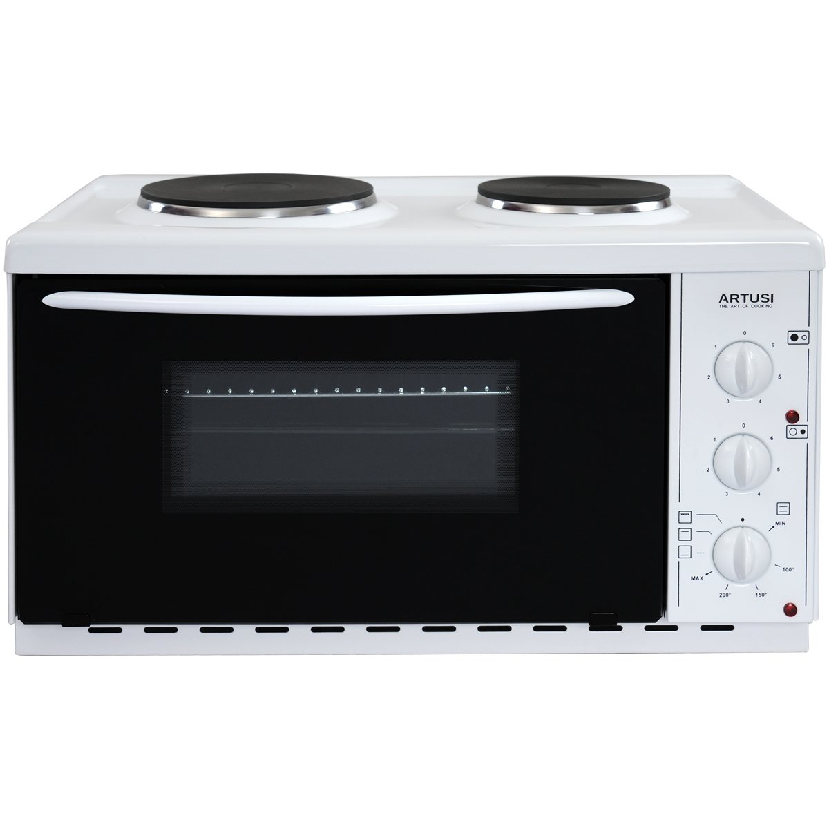 Artusi AOMK1 Vulcan Microwave Oven with Cooktop