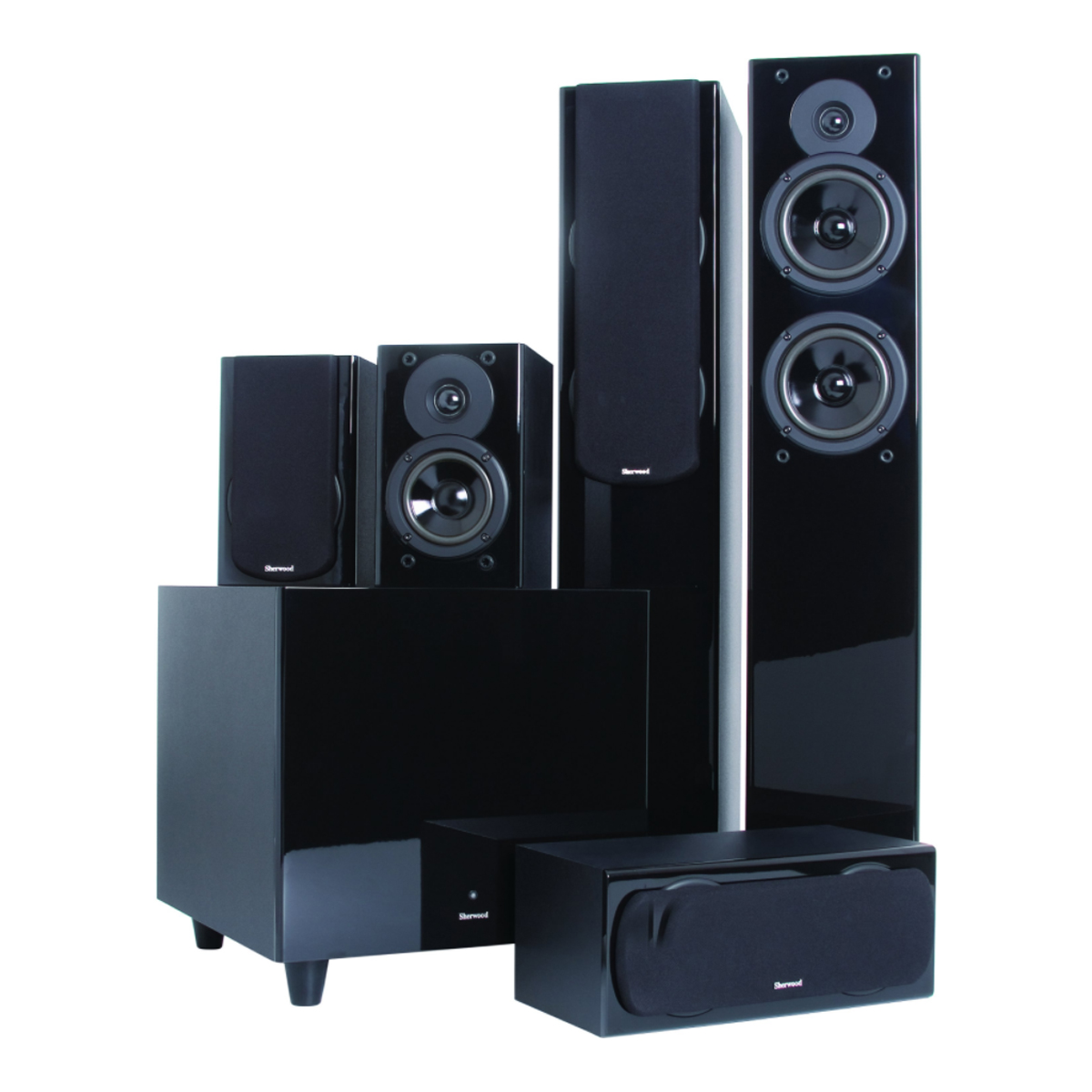 Sherwood CONCERTO-PACK 5.1 Ch Home Theatre System