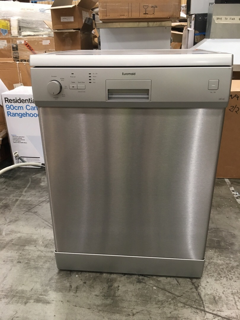 Euromaid DR14S Freestanding Dishwasher