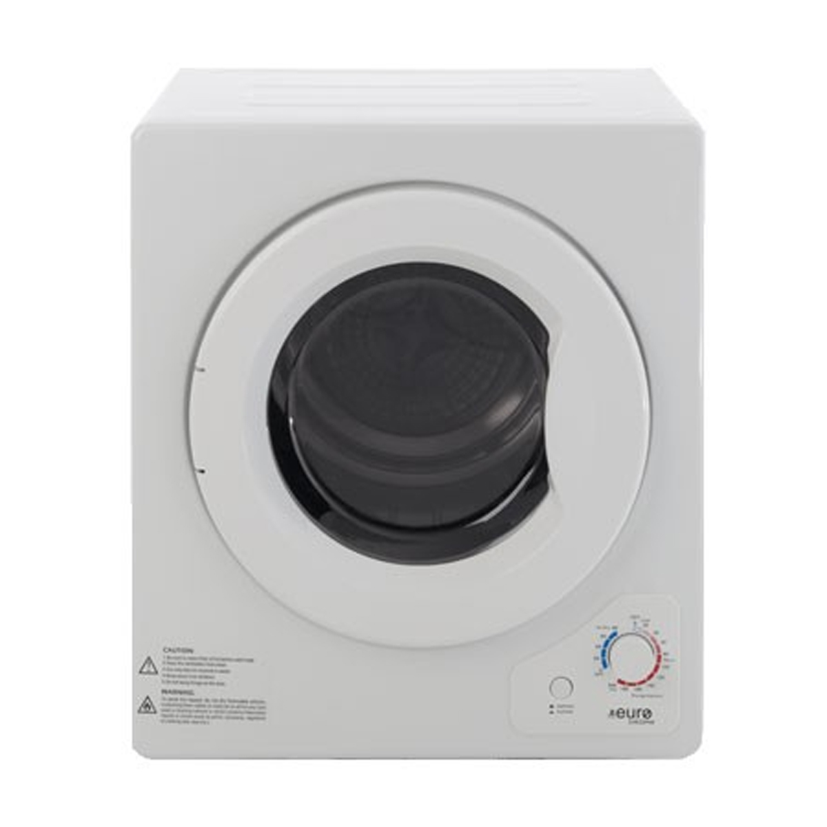 Euro Appliances E4KDMW 4kg Front Load Manual Dryer