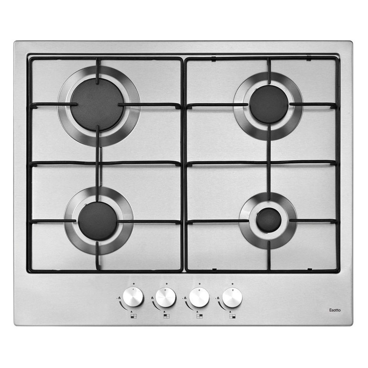 Esatto ECG6F 60cm Natural Gas Cooktop