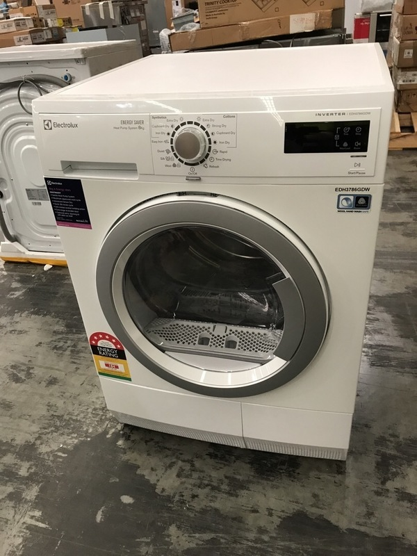 Electrolux EDH3786GDW 8kg Heat Pump Dryer