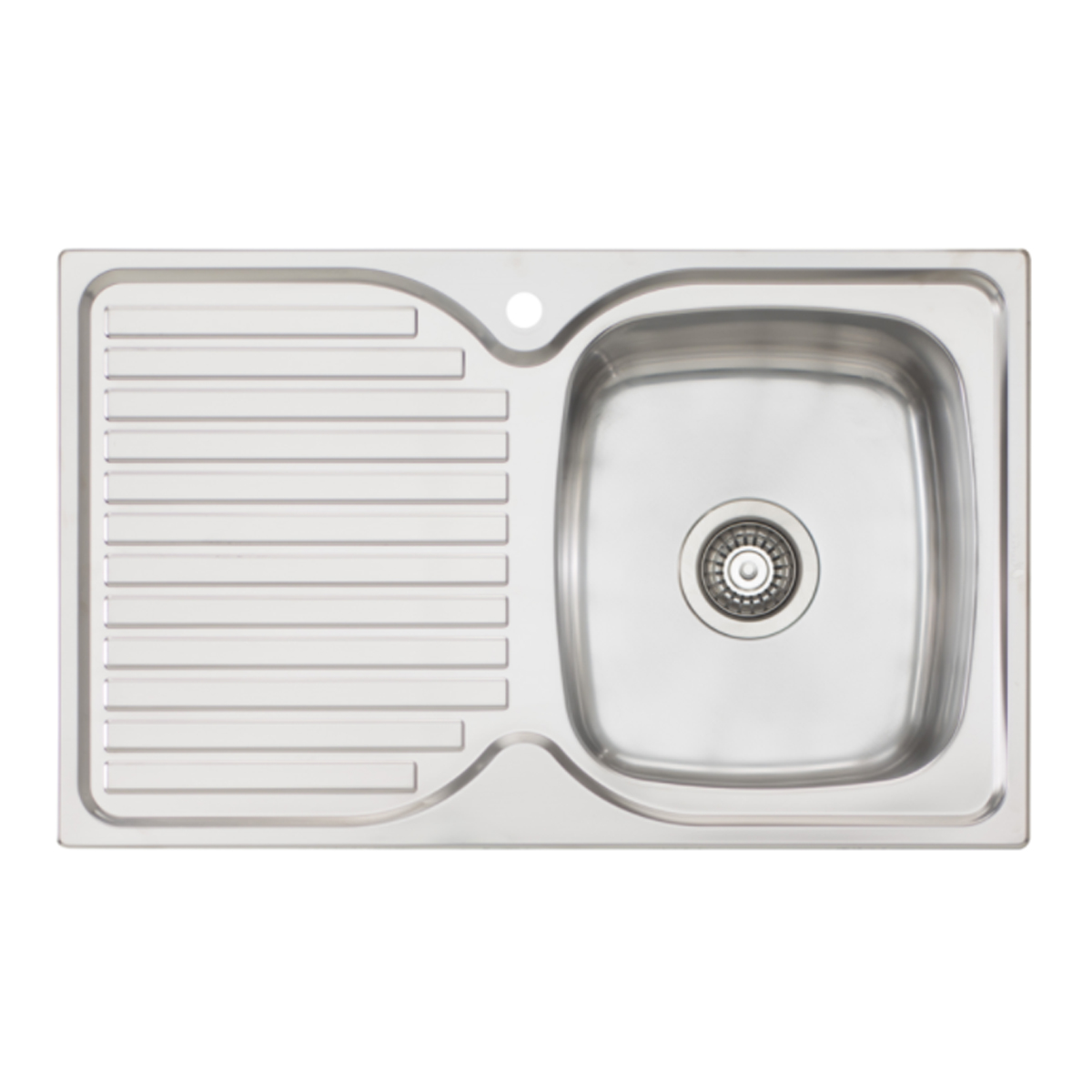 Oliveri EE22 Endeavour Single Bowl Sink With Drainer