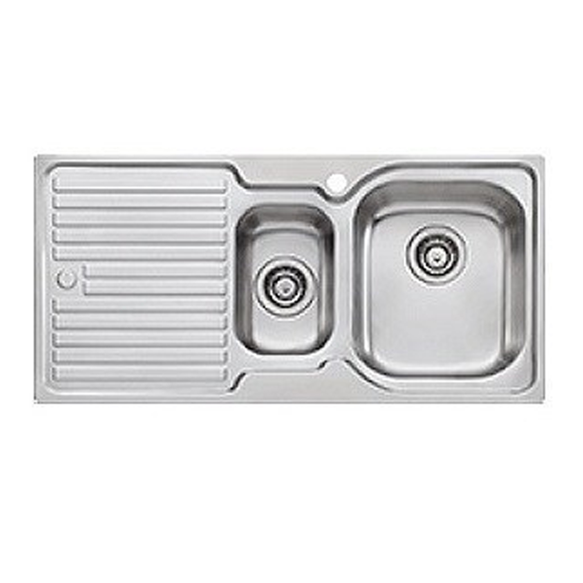 Oliveri EL002 Stainless Steel Right Hand Bowl Sink