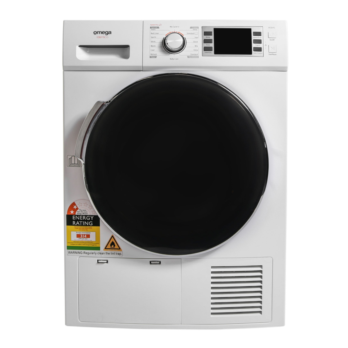 Omega OCD7C 7kg Condenser Dryer