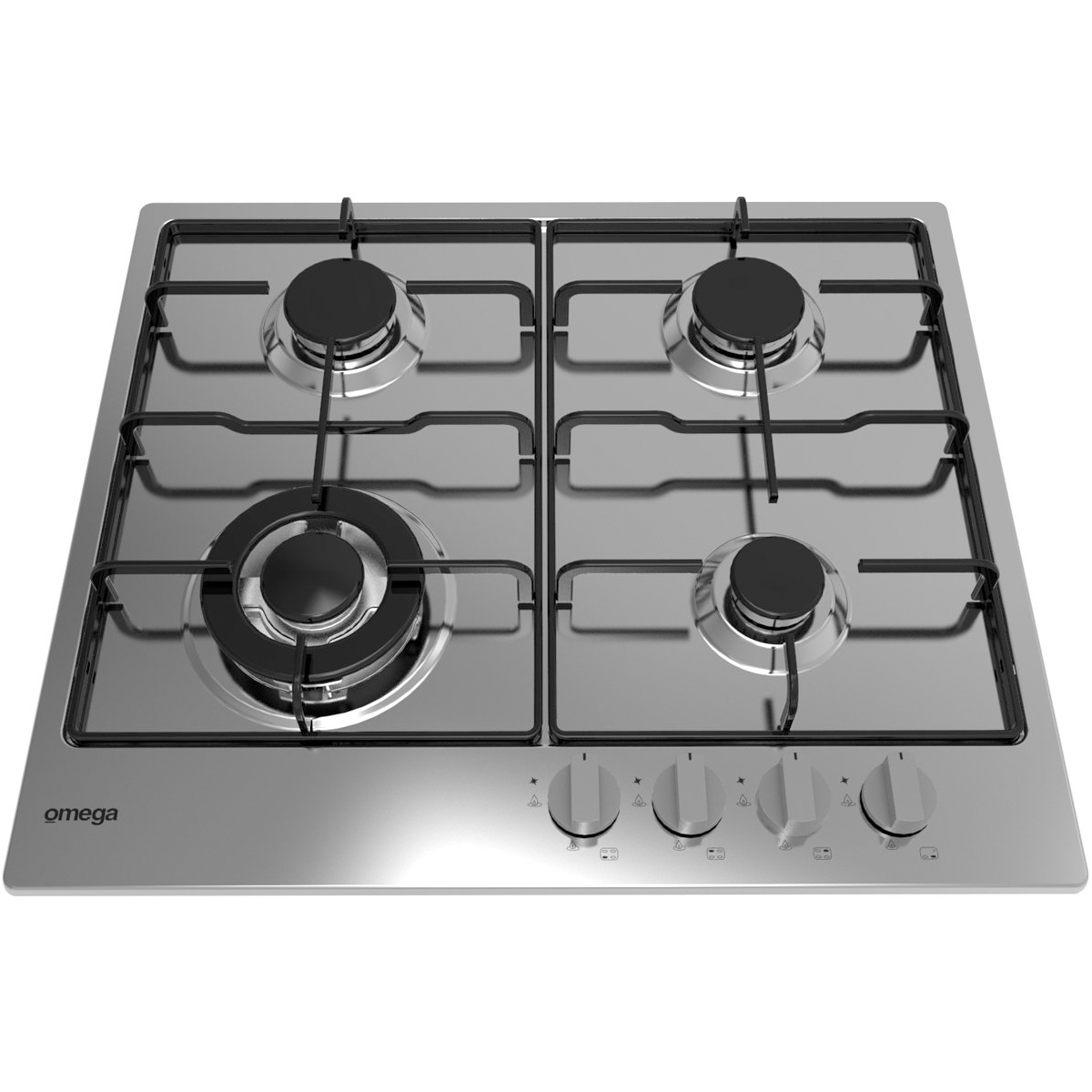 Omega OCG61XA 60cm Natural Gas Cooktop