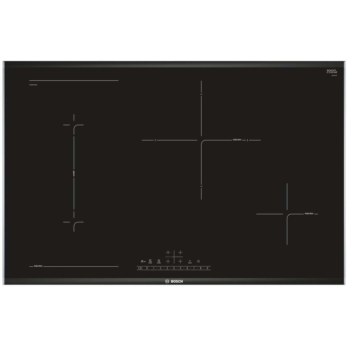 Bosch PVS875FB1E Serie 6 Induction Cooktop