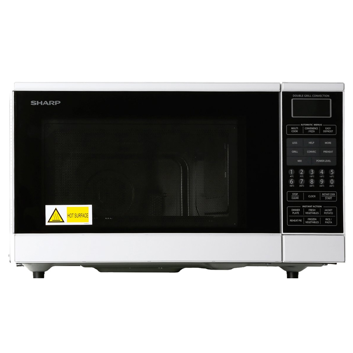 Sharp R890NW 20L Convection Microwave 900W