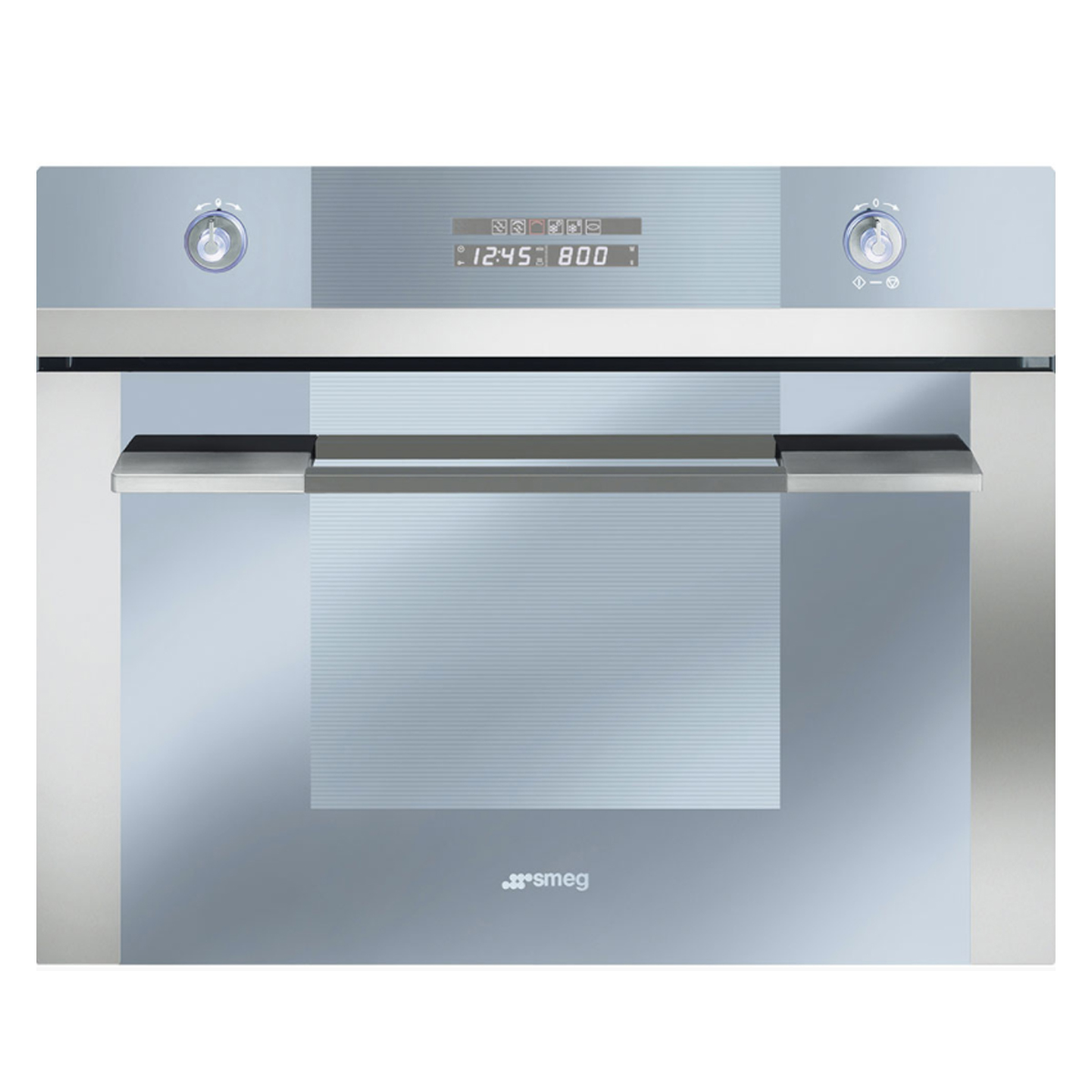 Smeg SCA45M2 60cm Linear Compact Microwave Oven + Grill
