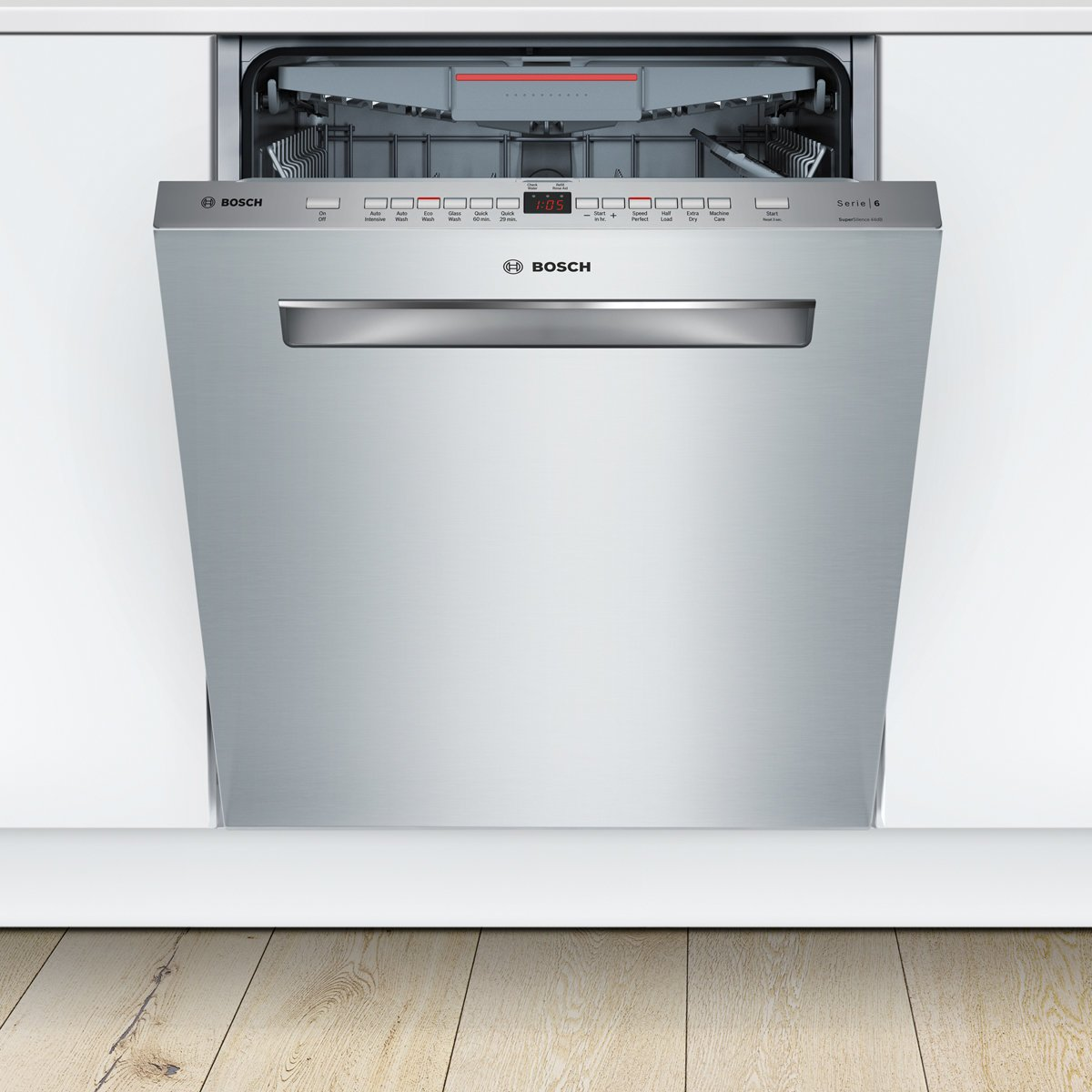 Bosch SMP66MX01A Serie 6 Underbench Dishwasher 79349