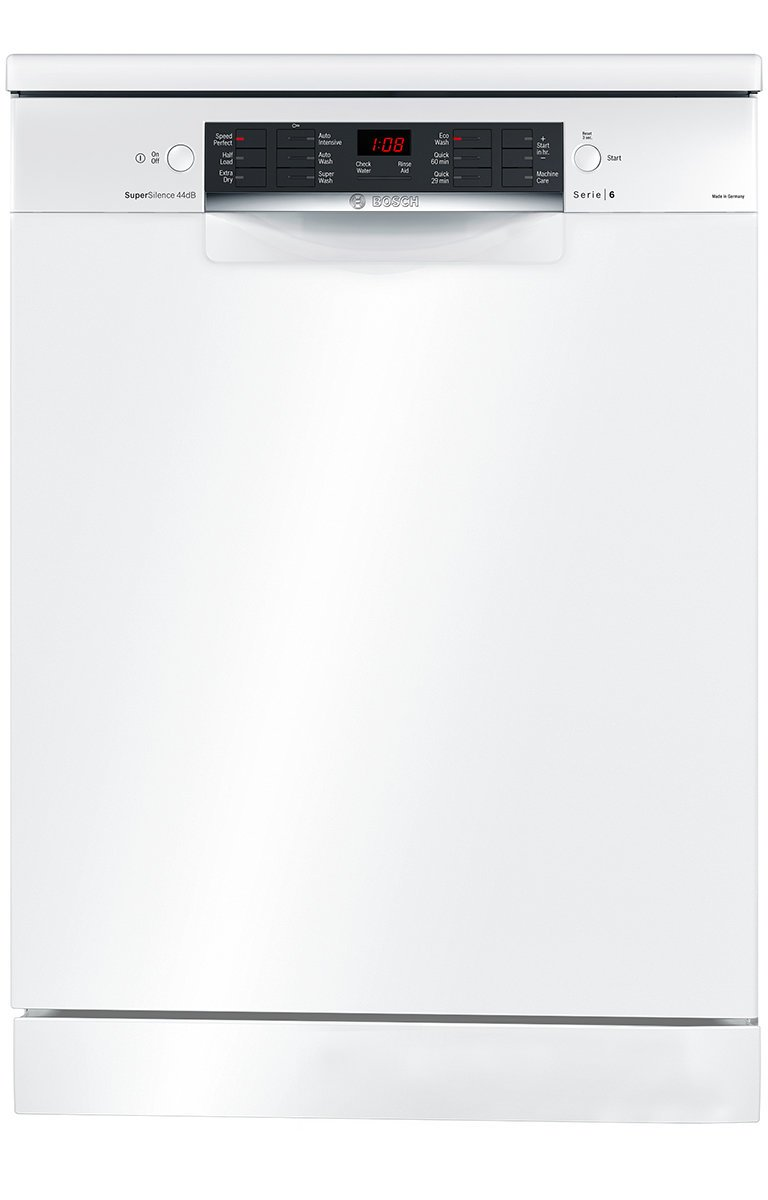 bosch sms66mw01a serie 6 freestanding dishwasher up to. Black Bedroom Furniture Sets. Home Design Ideas