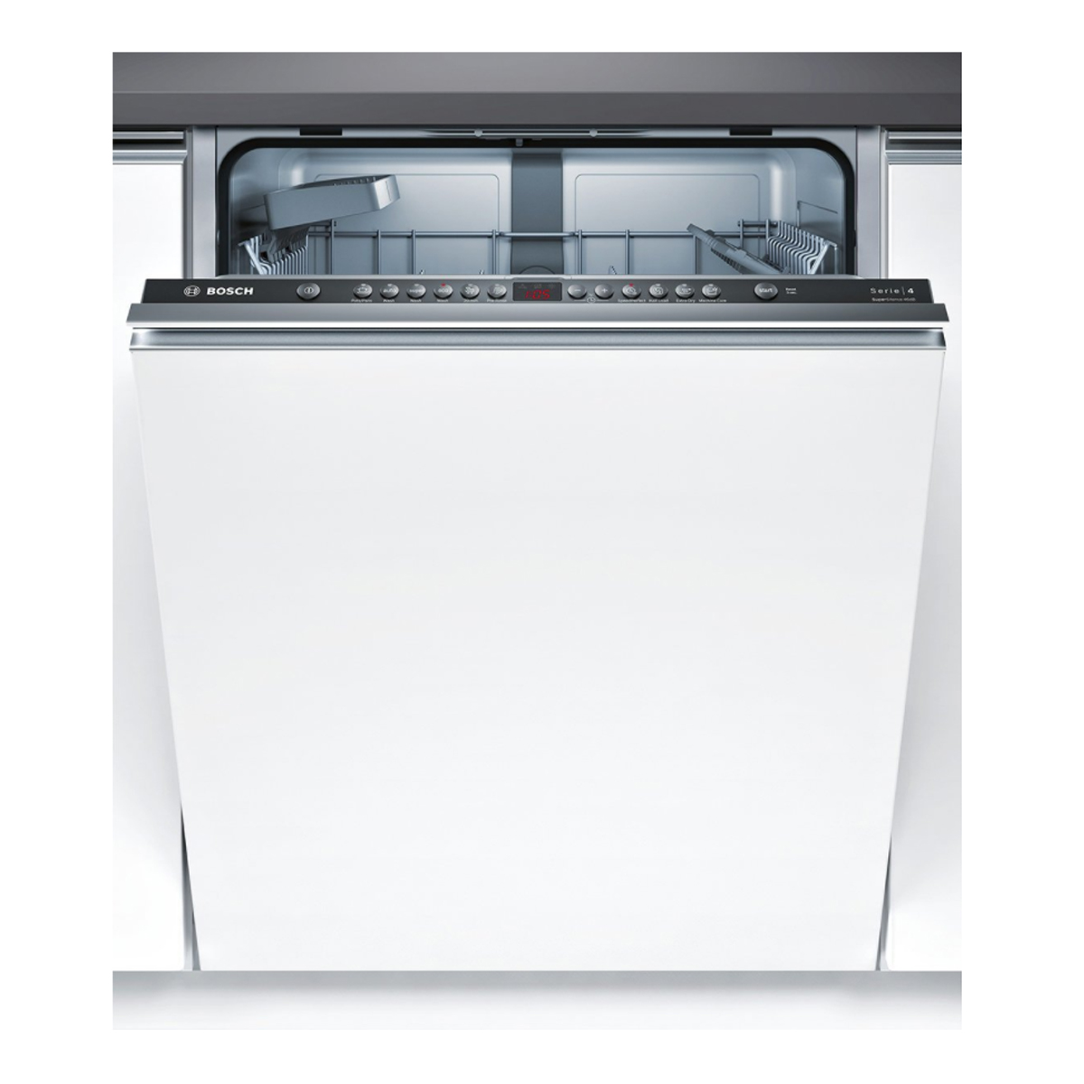bosch smv46gx01a serie 4 fully integrated dishwasher up. Black Bedroom Furniture Sets. Home Design Ideas