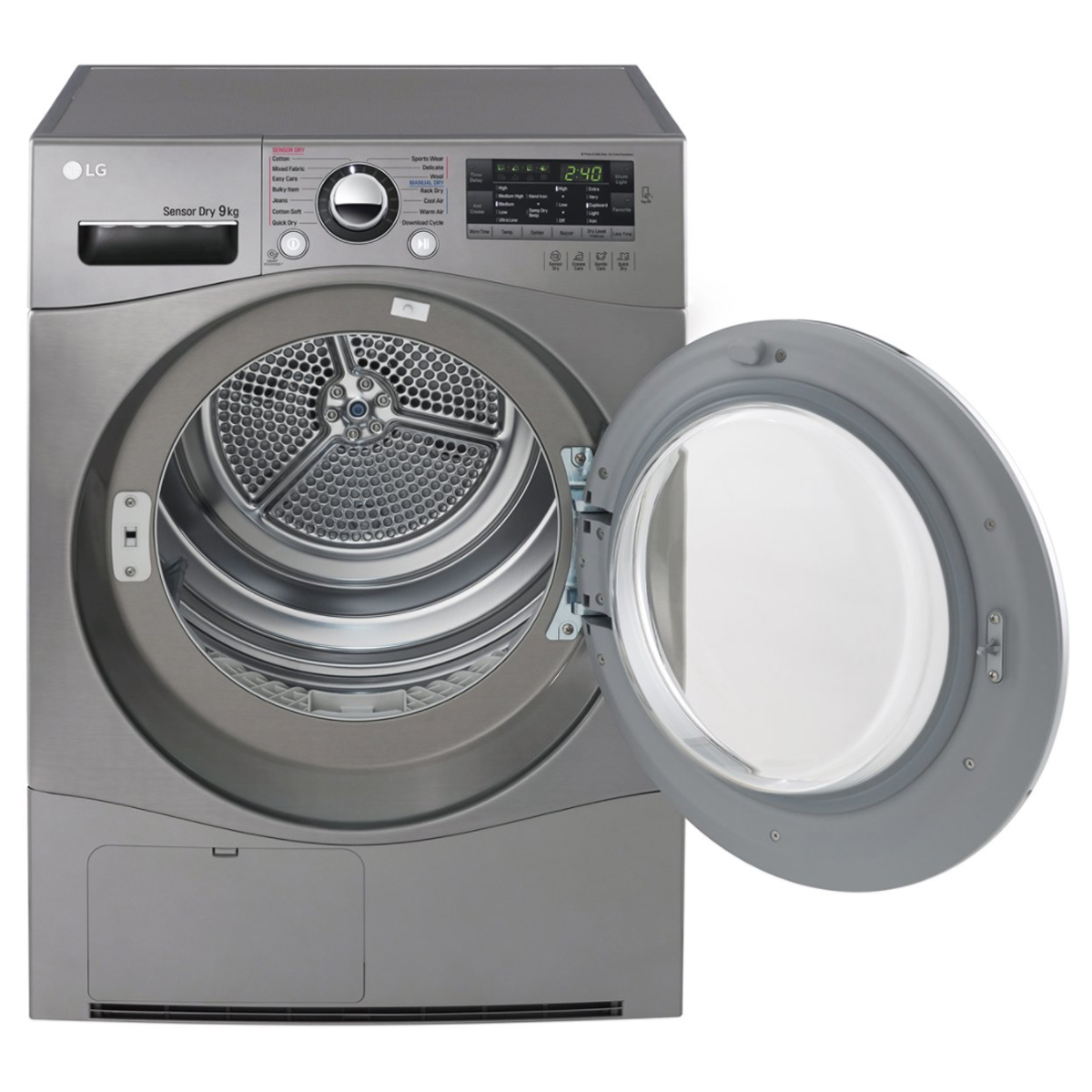 LG TD-C90NPE 9Kg Condenser Dryer with Tag On Function 80804