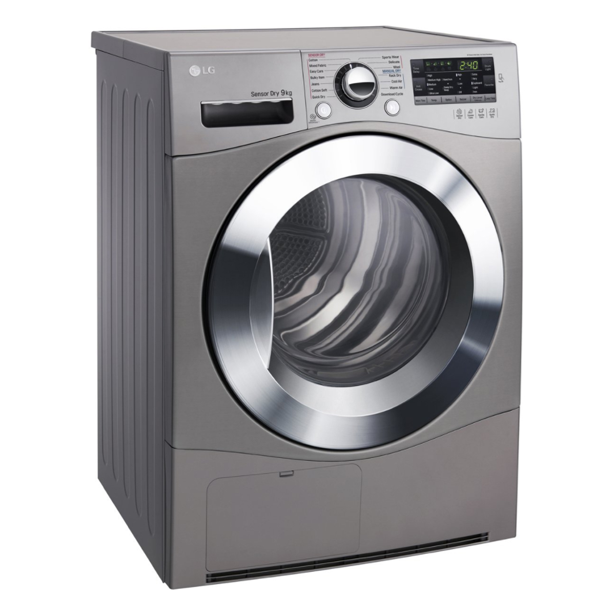 LG TD-C90NPE 9Kg Condenser Dryer with Tag On Function 80805