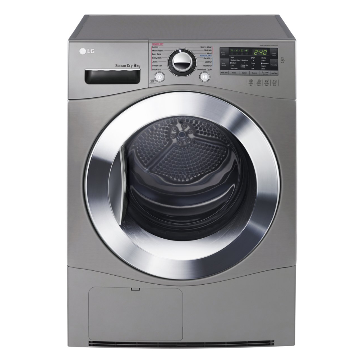 LG TD-C90NPE 9Kg Condenser Dryer with Tag On Function