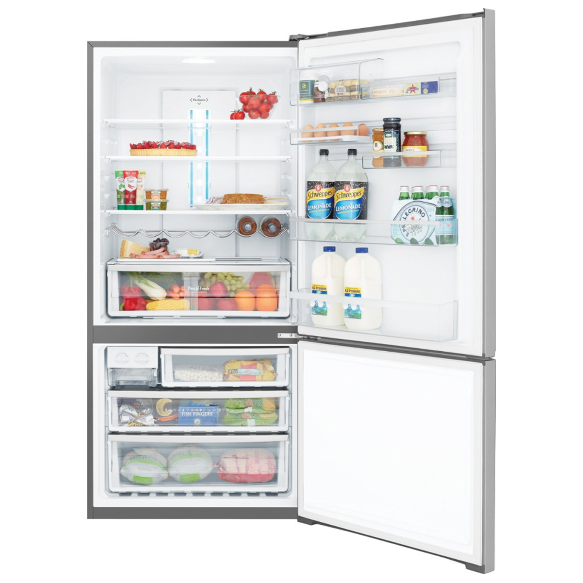 Westinghouse WBE5300SARH 528Litres Bottom Mount Fridge 79560