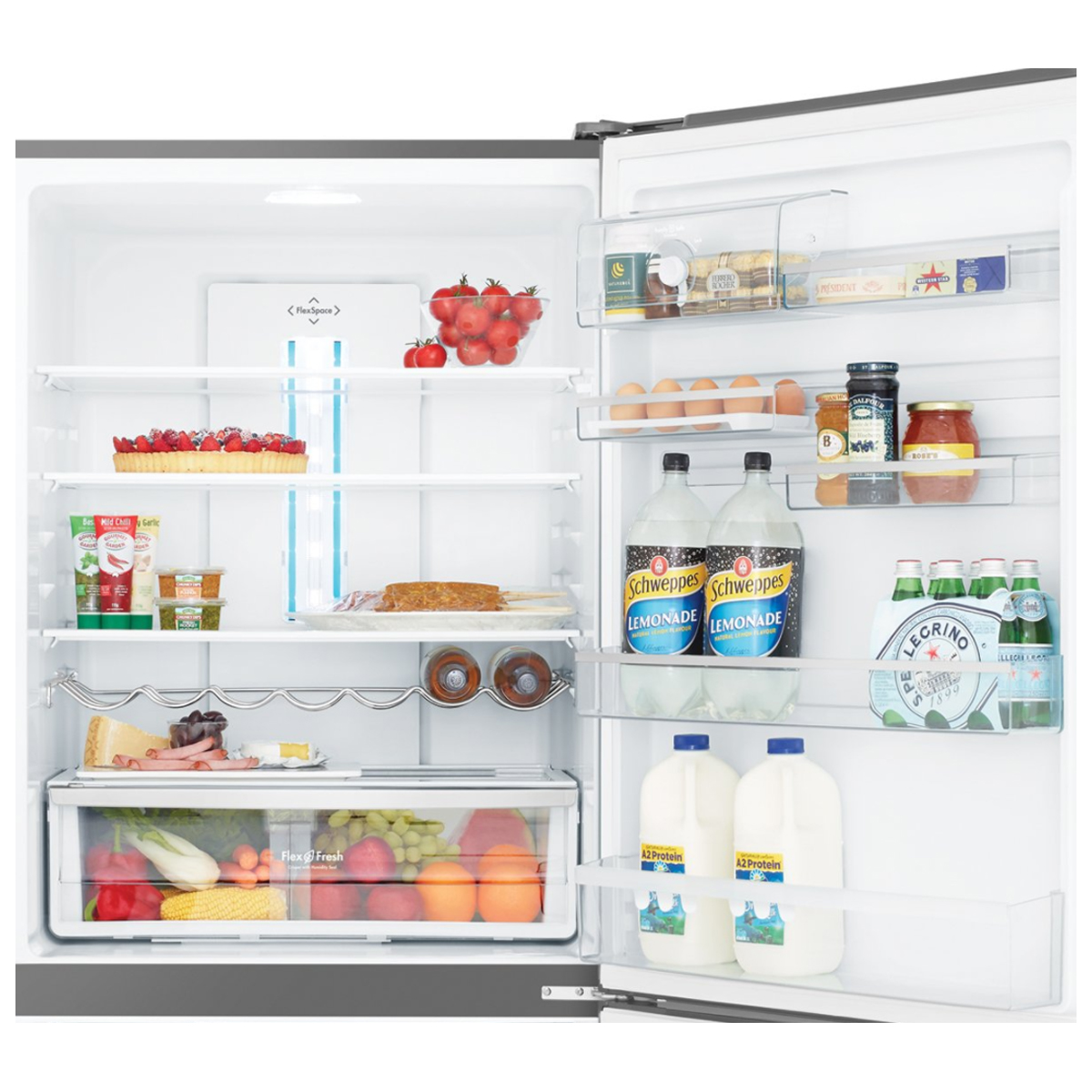 Westinghouse WBE5300SARH 528Litres Bottom Mount Fridge 79561