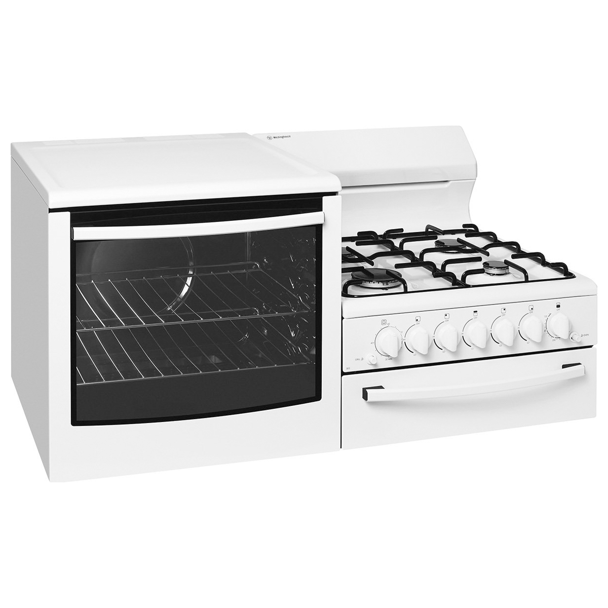 Westinghouse WDG101WA-L Elevated Gas Oven