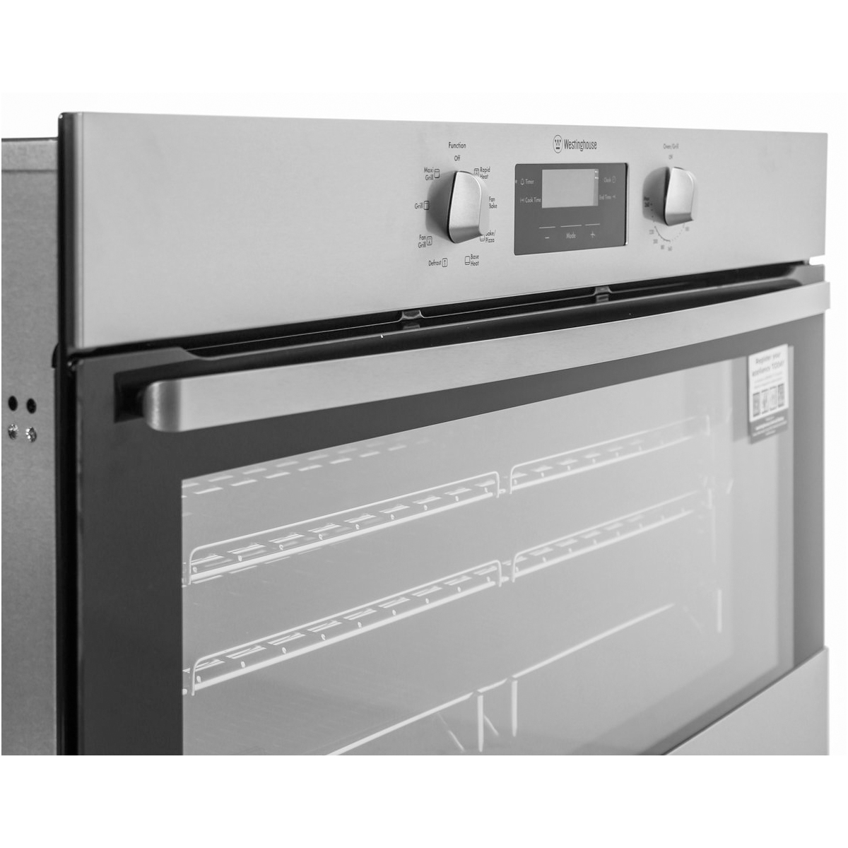 Westinghouse WVE914SB 90cm Electric Built-In Oven 72966