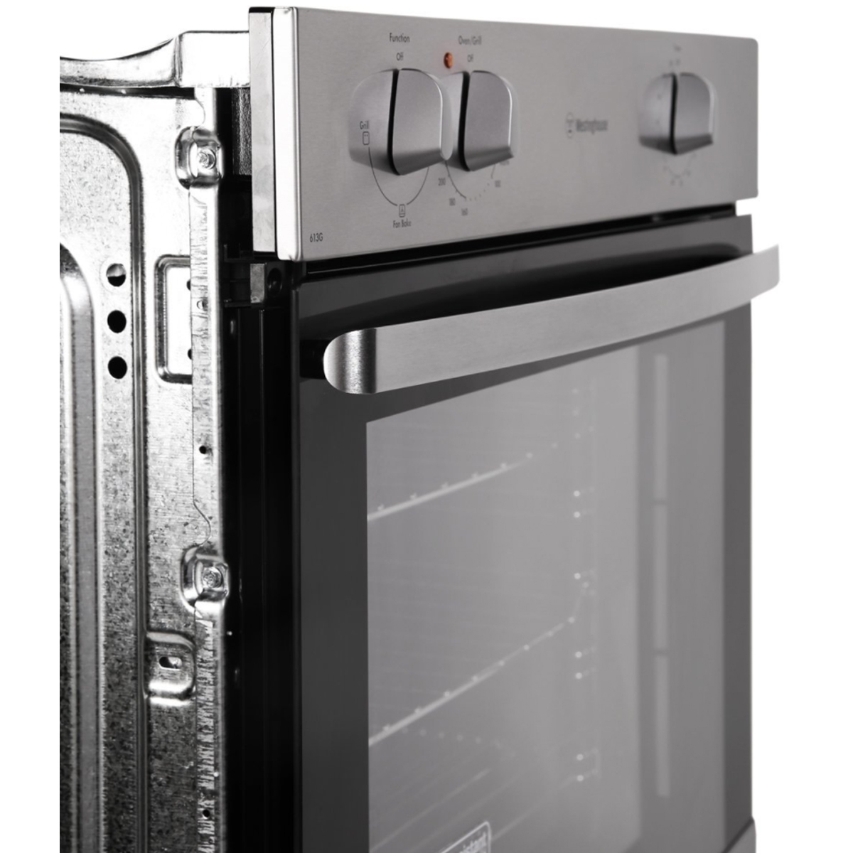 Westinghouse WVG613S 60cm Natural Gas Built-In Oven 79817