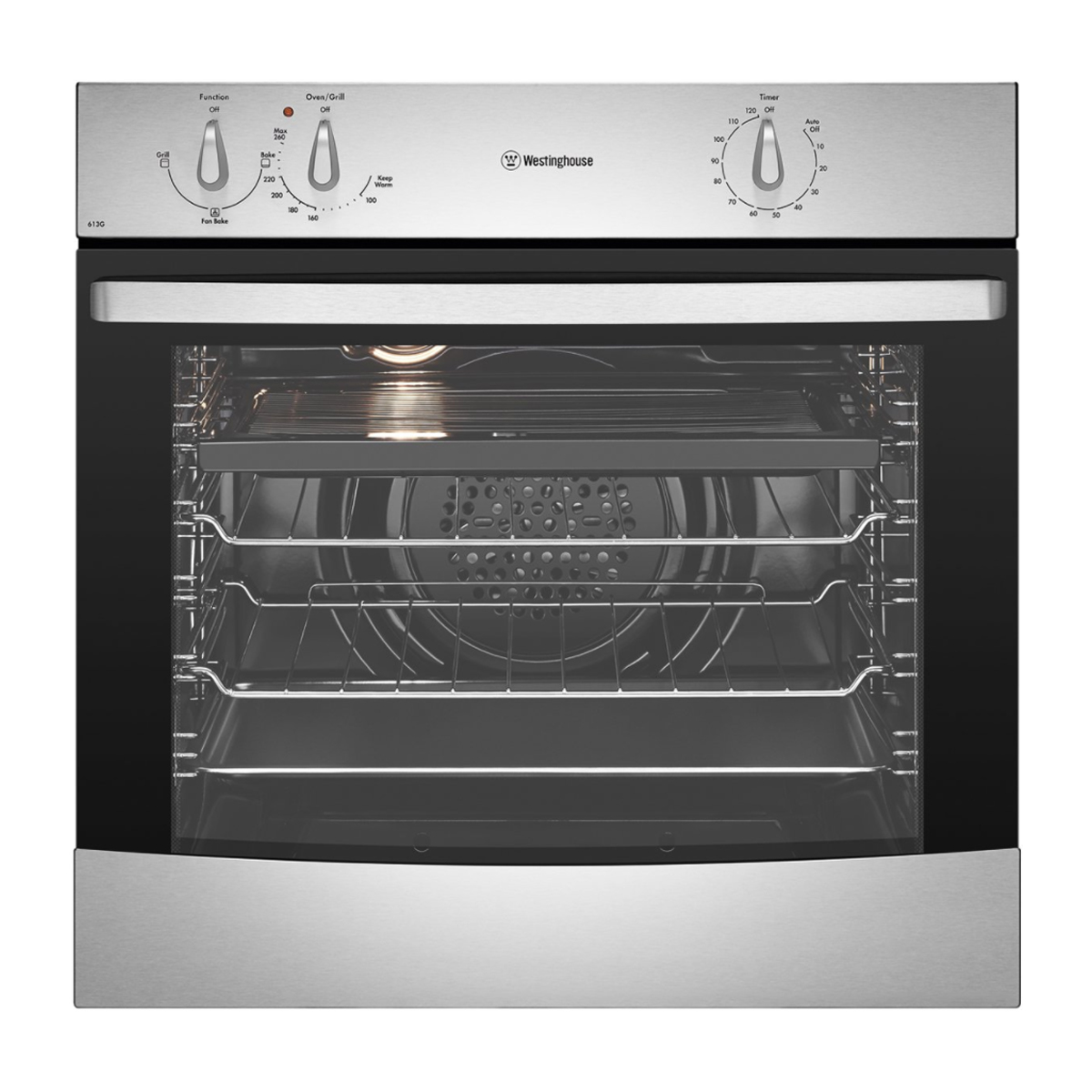 Westinghouse WVG613S 60cm Natural Gas Built-In Oven