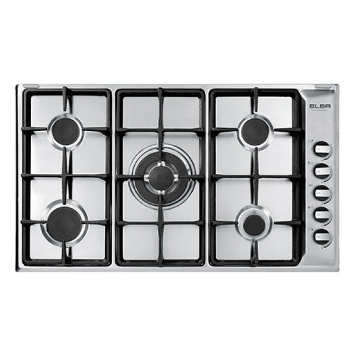 Elba CG905LWFCX2 900mm Stainless Steel Gas Cooktop