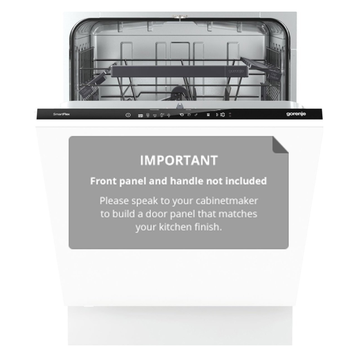 Gorenje GV65260AU Fully Integrated Dishwasher