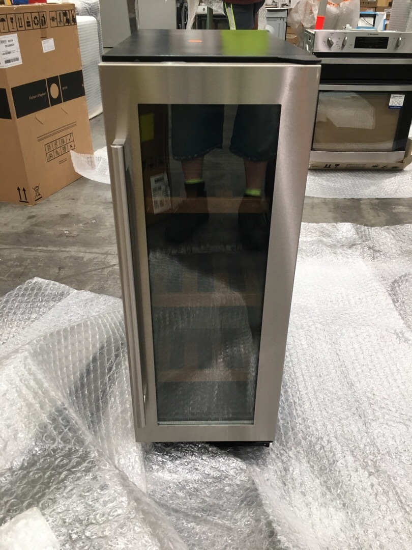 Vintec V20SGEHS3 20 Bottles Stainless Steel Wine Fridge