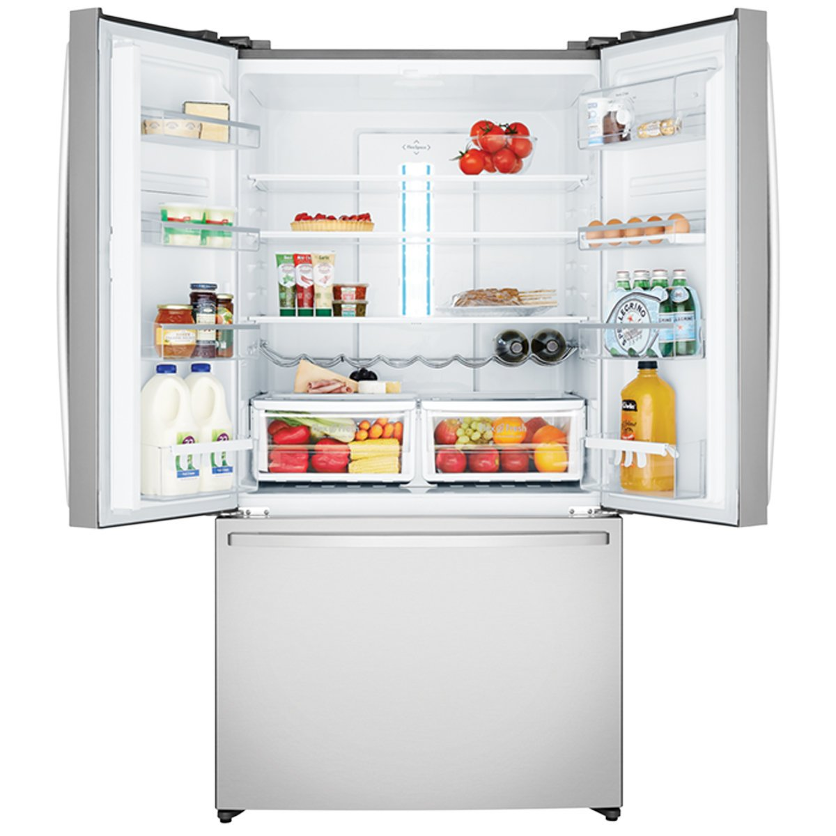 Westinghouse WHE6000SA 605Litres French Door Fridge 82895