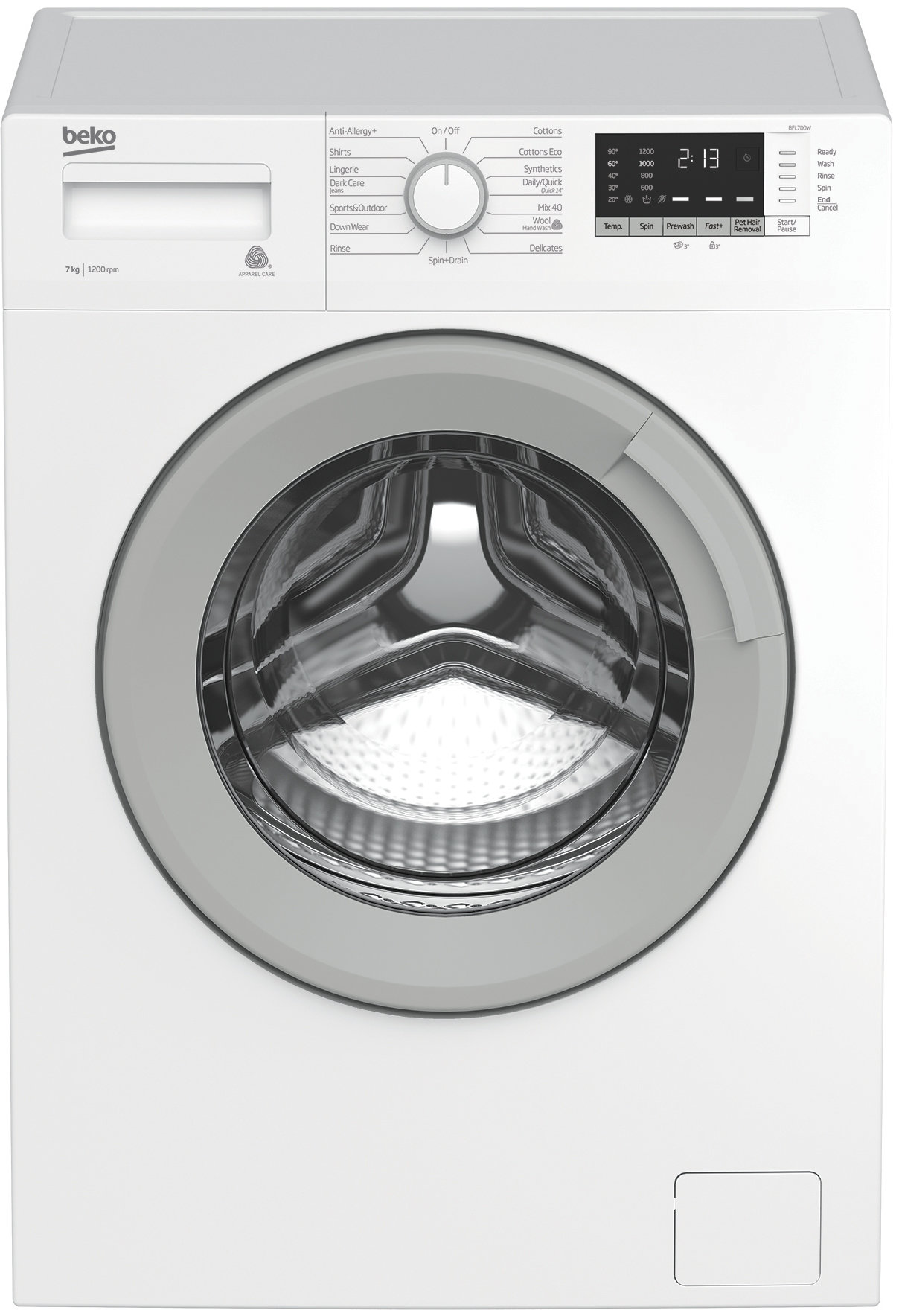 Beko BFL700W 7kg Front Load Washing Machine 105210