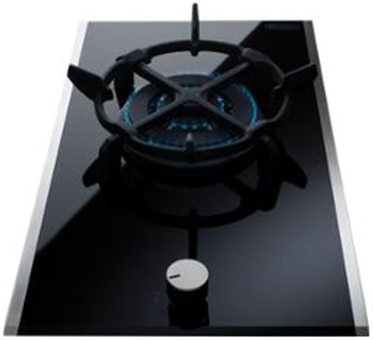 Delonghi DE30WGB 30cm Natural Gas Cooktop 100176