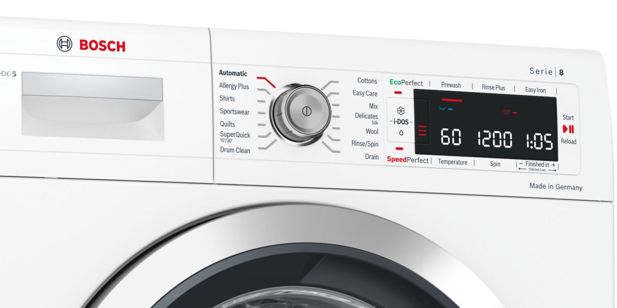 Bosch WAW28640AU Serie 8 9kg Front Load Washing Machine 104829