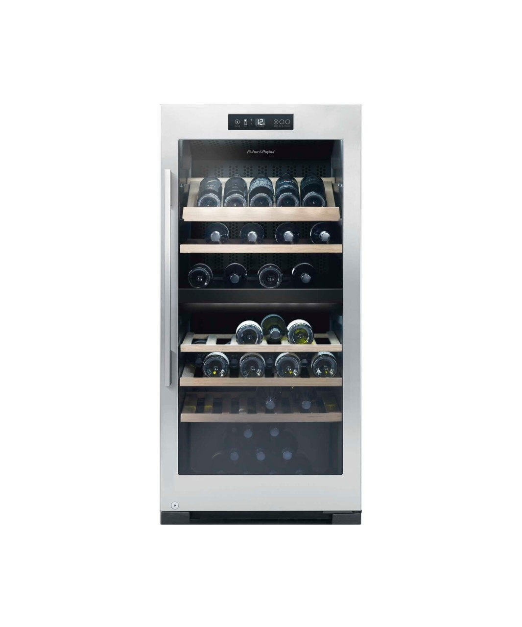 Fisher & Paykel RF206RDWX1 Wine Cabinet - 83 Bottle Dual Zone 100153